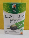Lentilles Vertes du Puy BIO