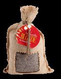 Lentilles blondes de St-Flour toile de jute
